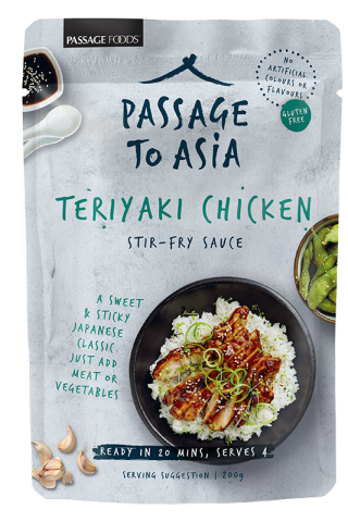 Passage to Asia Teriyaki Chicken recipe sauce