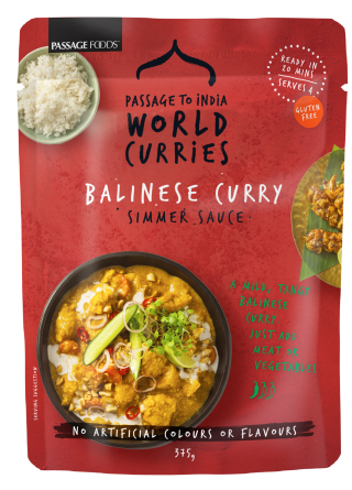 Passage Foods - Balinese Curry Pack Shot