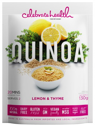 Celebrate Health Lemon & Thyme Quinoa