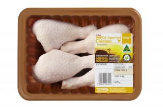 Coles 100% RSPCA Approved Free Range Chicken
