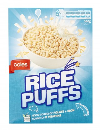 Coles Rice Puffs