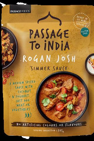Passage to India Rogan Josh Simmer Sauce