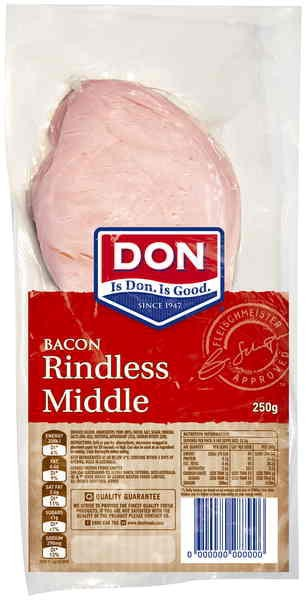 DON Bacon, perfect for your Sunday morning bacon and eggs or any other recipe calling for bacon