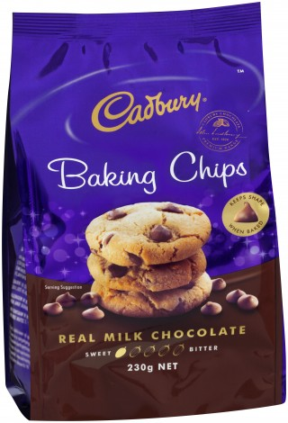Cadbury Baking Chips - Milk Chocolate