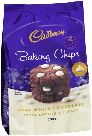 Cadbury Baking Chips - White Chocolate