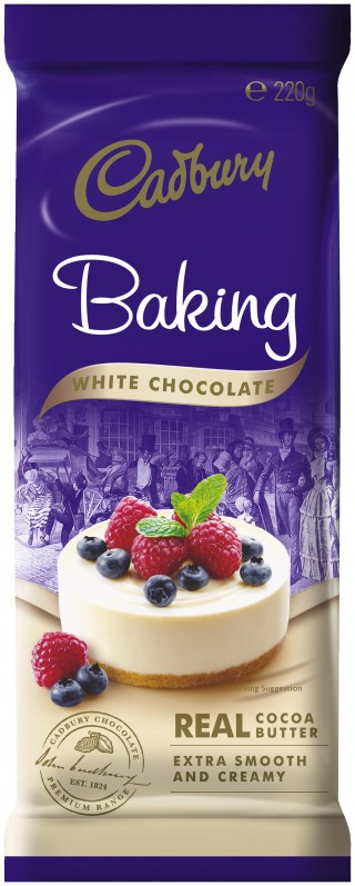 Cadbury Baking Block - White Chocolate