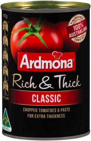 australian grown canned tomatoes