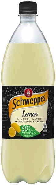Schweppes Lemon Mineral Water