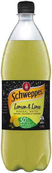 Schweppes Lemon & Lime Mineral Water