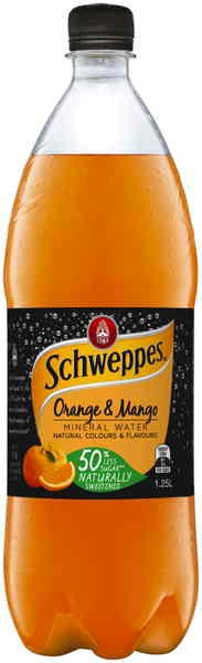 Schweppes Orange & Mango Mineral Water