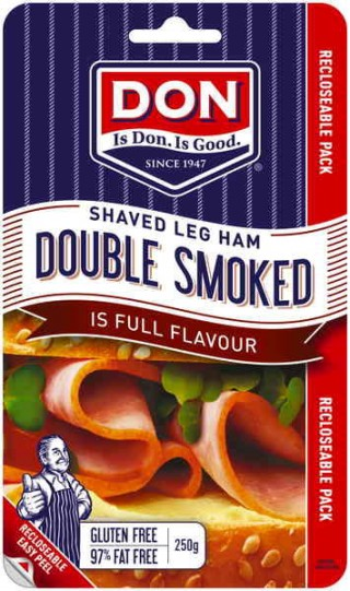 Double Smoked for double the flavour - this ham is the perfect food for sandwiches, recipes and party platters