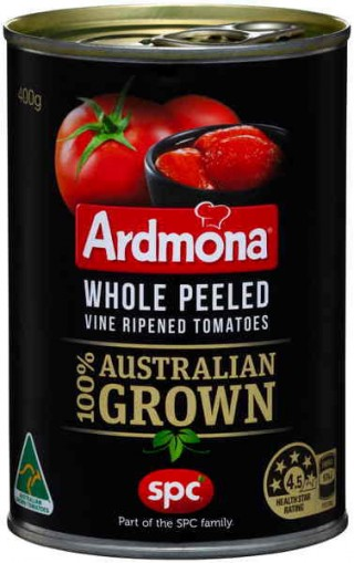 Whole peeled canned tomatoes