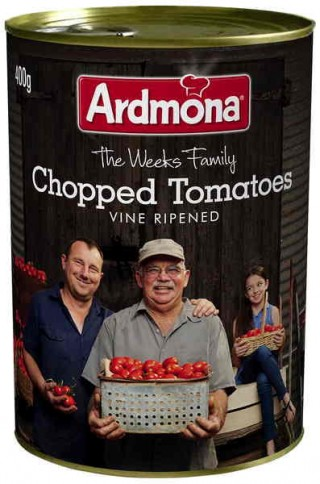 Ardmona Australian grown chopped tomatoes