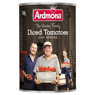 Ardmona diced tomatoes