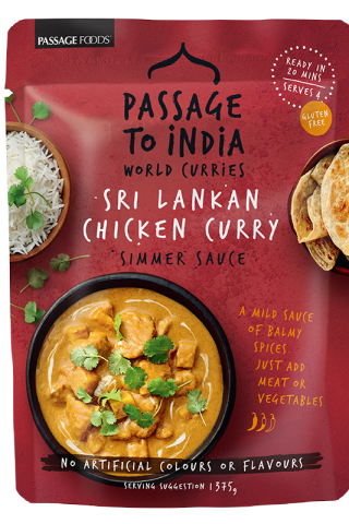 Sri Lankan Chicken Curry Simmer Sauce