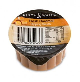 birch waite caramel dipping sauce perfect dessert accompaniment