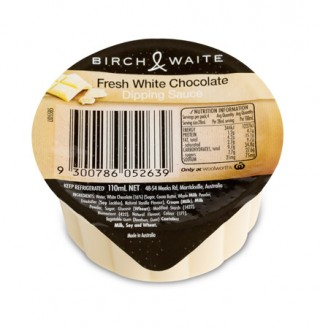 birch & waite white chocolate dipping sauce perfect for dessert