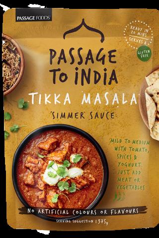 Tikka Masala Simmer Sauce Passage to India