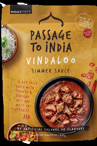 Passage to India Vindaloo simmer sauce