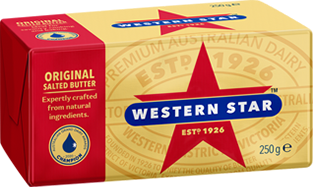 Western Star Salted Butter