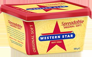 Western Star Original Soft Spreadable Butter