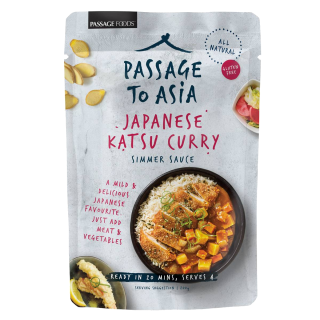 Passage to Asia Japanese Katsu Curry