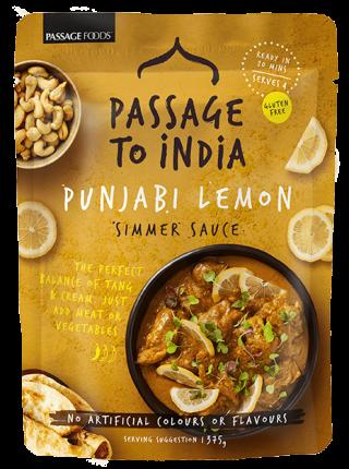 Passage to India Punjabi Lemon Simmer Sauce