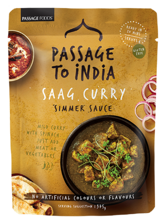 Passage to India Saag Curry