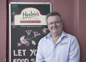 Ian Herbie from Herbie's Spices