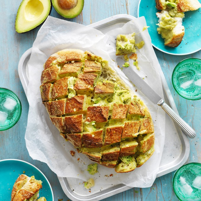 How to make Cheesy Avocado and Cheese Pull-Apart Bread