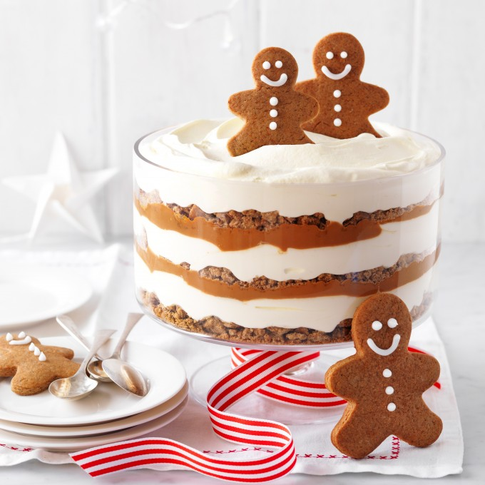Easy Gingerbread trifle recipe