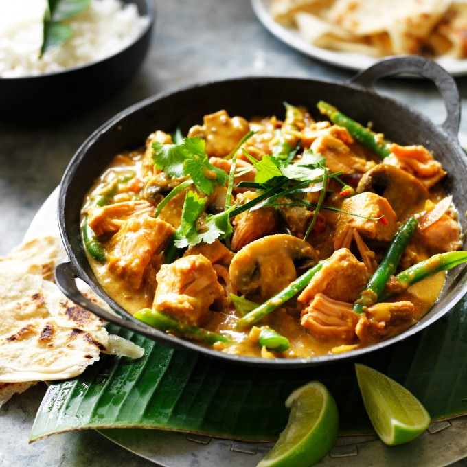 Jackfruit and Mushroom Balinese Curry