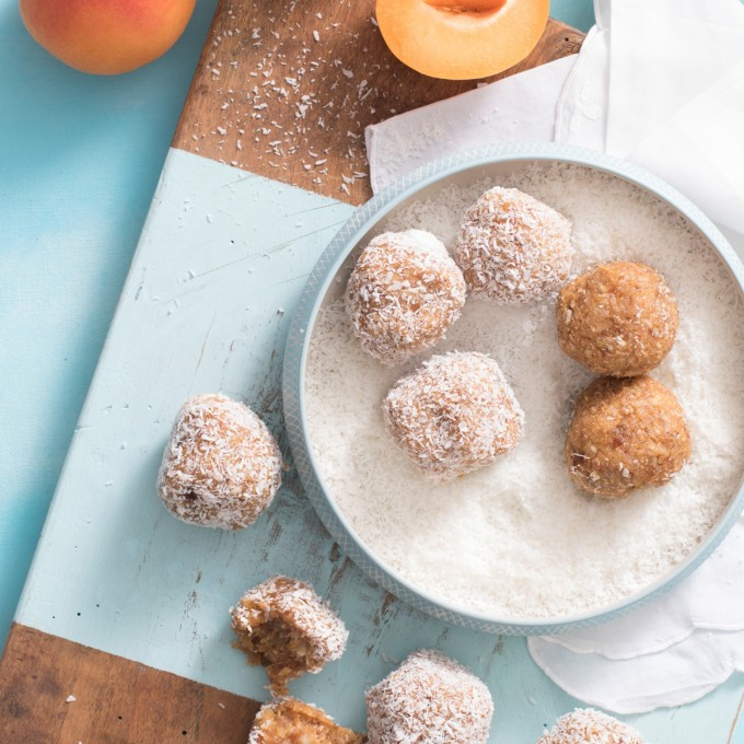 Easy Apricot Chia Bliss Balls recipe
