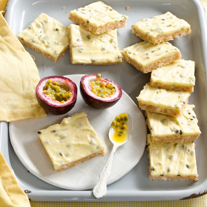 Passionfruit Slice Recipe by Western Star