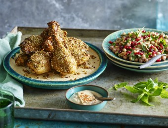 Harissa and Dukkah Roasted Chicken
