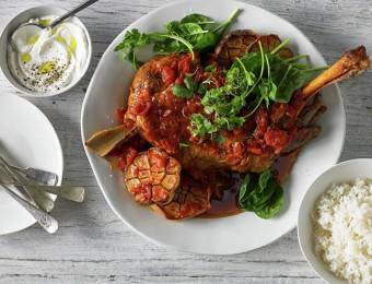 Slow Roasted Harissa Lamb Shoulder Recipe