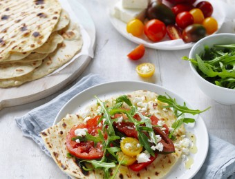 Easy Flat Breads recipe