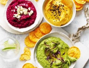 Healthy Hummus Rainbow - Hummus Base Recipe