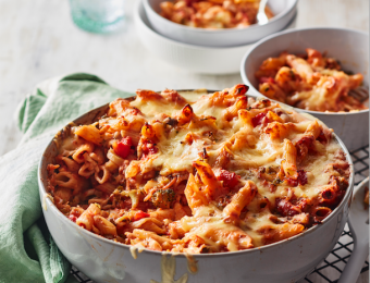 Easy vegetable Family Pasta Bake recipe