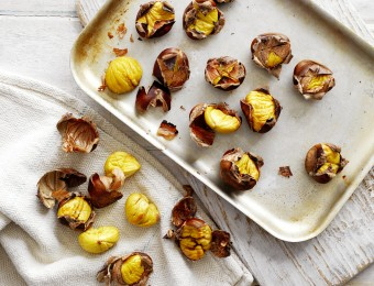 Roasted Chestnuts Preparation Method