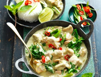 Green Thai Chicken Curry recipe