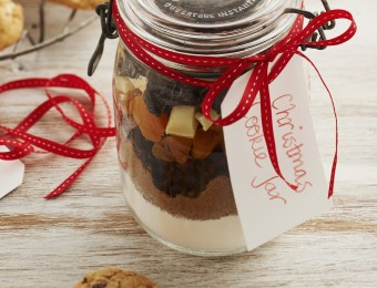 Christmas Cookie Gift Jars