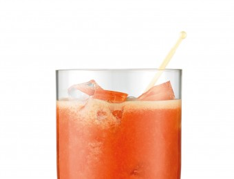 Citrus and Cranberry Refresher - a quick cocktail recipe made with the Breville Boss To Go personal blender