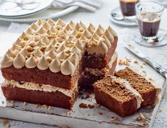 Coffee and Hazelnut Cake Recipe