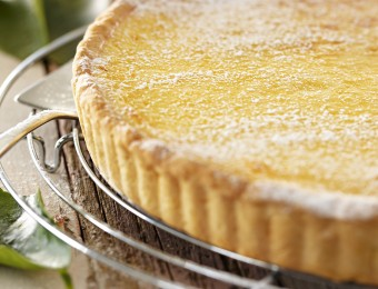 Creamy lemon tart recipe