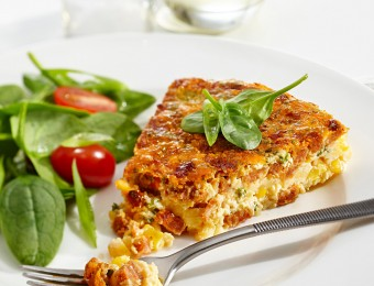 Chorizo and Corn Frittata