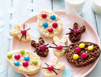 Chocolate crackle easter bunny recipe