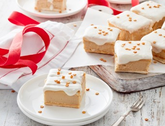 Eggnog custard slice recipe