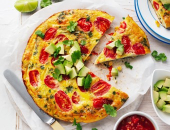 Mexican Pan Frittata recipe