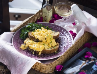 Truffled Scrambled Eggs